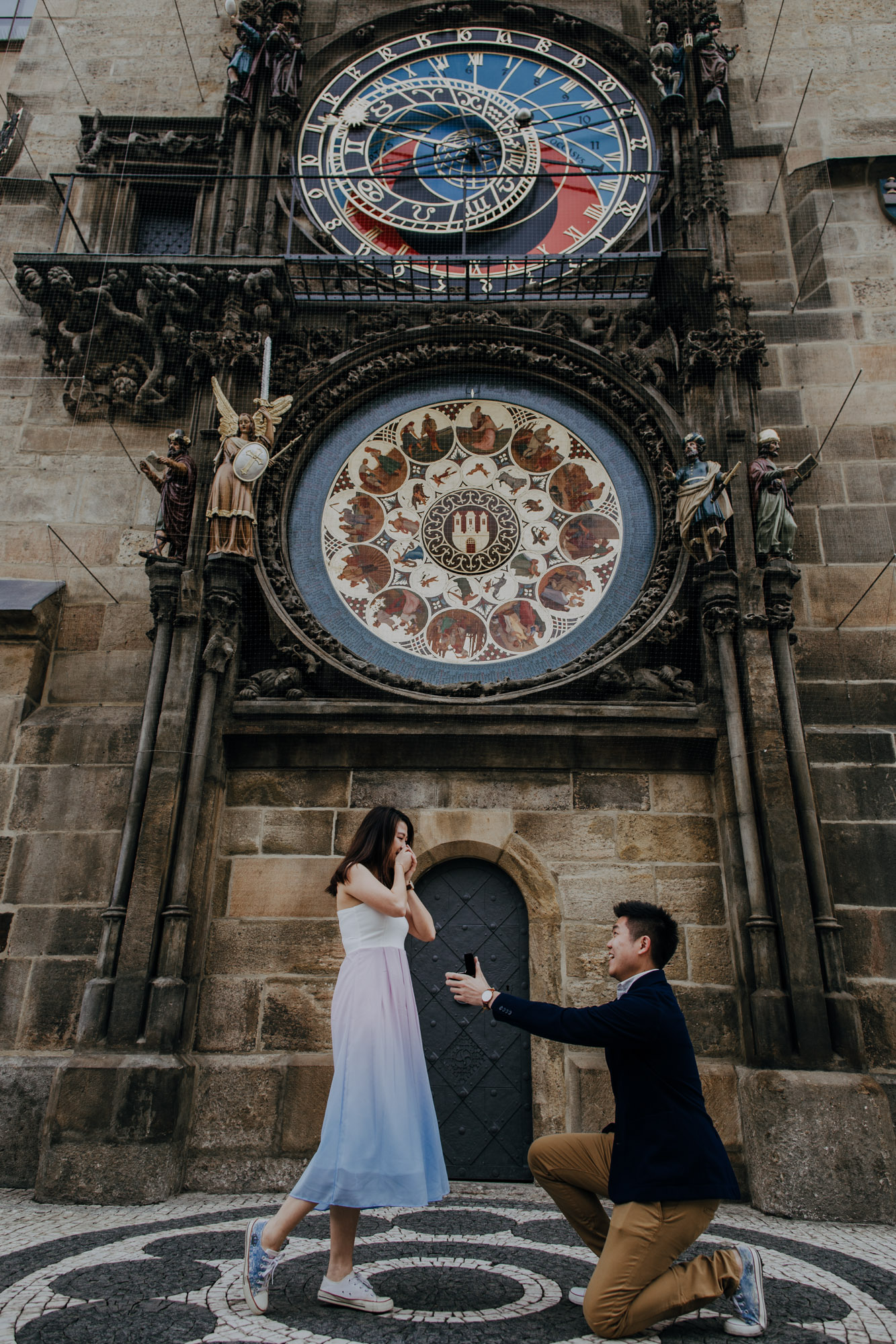 Best places for marriage proposal in Prague