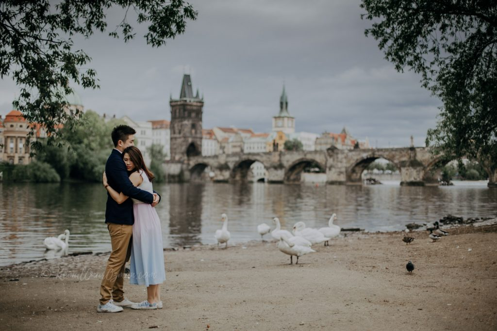 Prague Nature Walk and Charles Bridge View