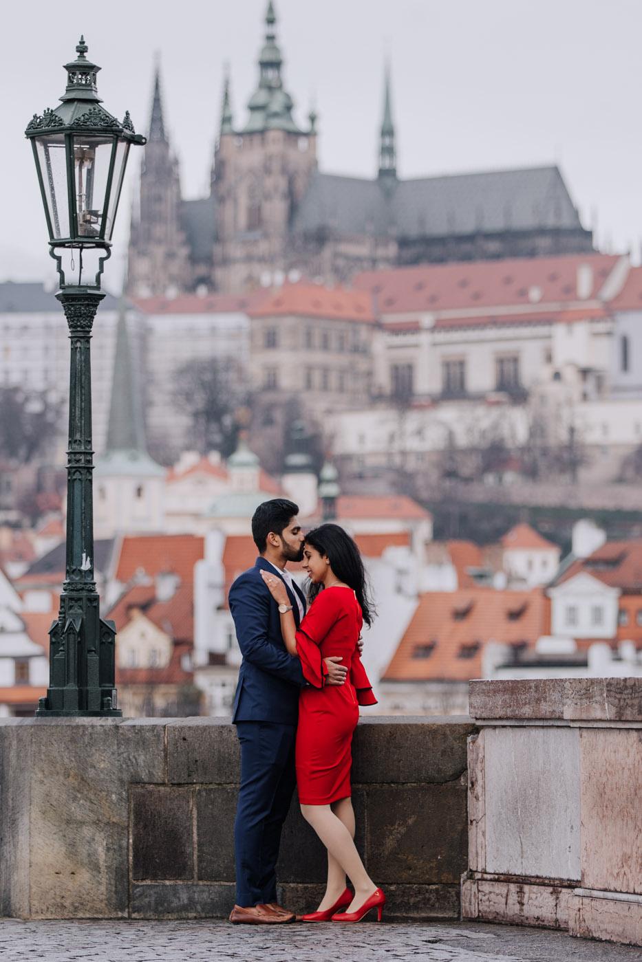 Prague castle view...